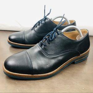 Baldinini Lace Up Leather Oxford Dress Shoes